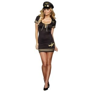Service with a Smile Pilot Adult Costume